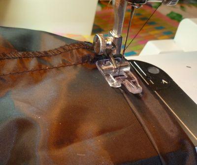 Sewing Pajama Bottoms - Straight stitching hem pants