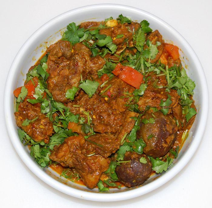 Spicy Pakistani Lamb