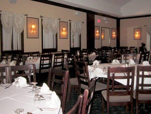 Interior Of Bamian Restaurant