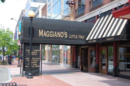 Magganio S Little Italy Restaurant In Washington D C