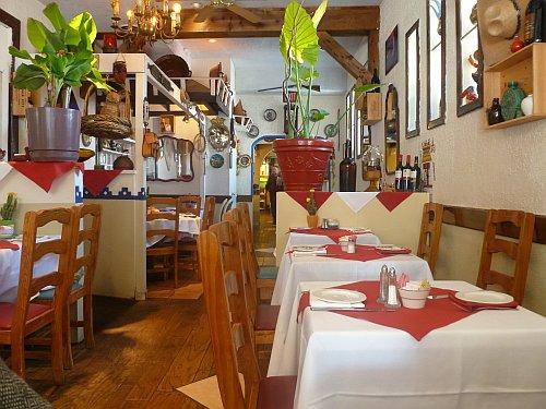 Interior Of Tia Queta S Mexican Restaurant
