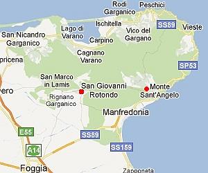 San Giovanni Rotondo Location Of The Padre Pio Shrine