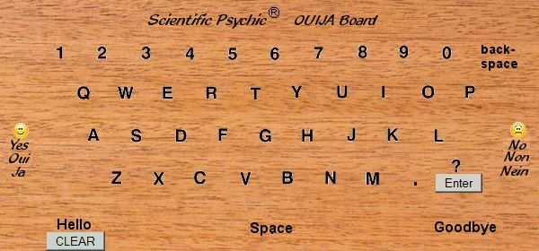 free online ouija board that really works