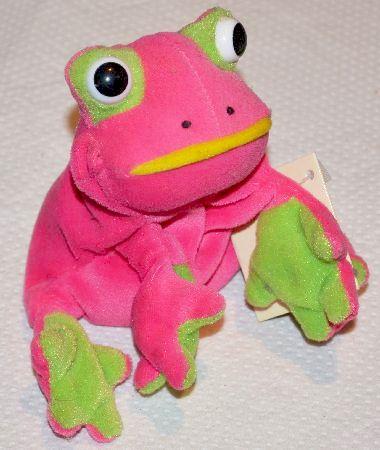 Pink frog - photo#15