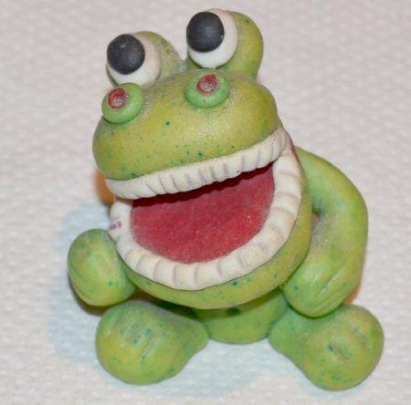 frog collection frog with human teeth
