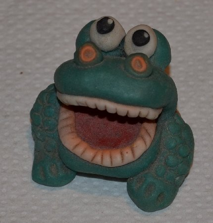 frog collection second frog with teeth