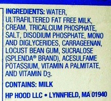 watered down milk ingredients