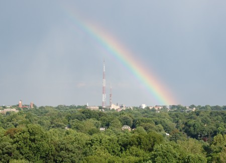 Rainbow over Bethesda